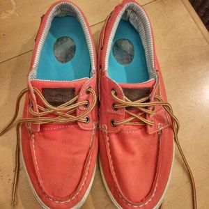 Kenneth Cole deck shoes